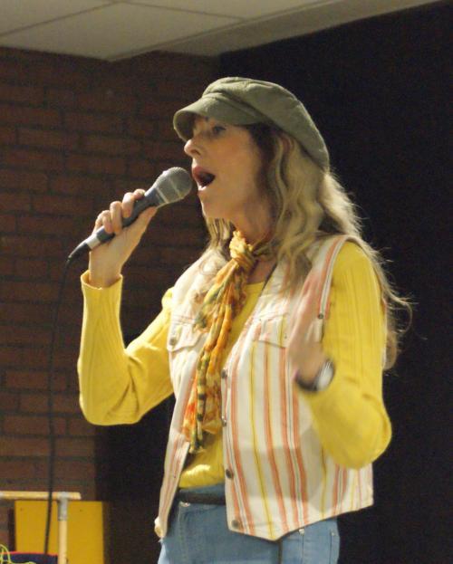Karin sings jazz